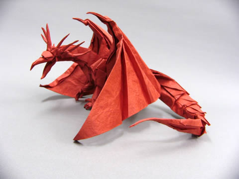 ハート 折り紙 エンシェントドラゴン 折り紙 : folders.jp