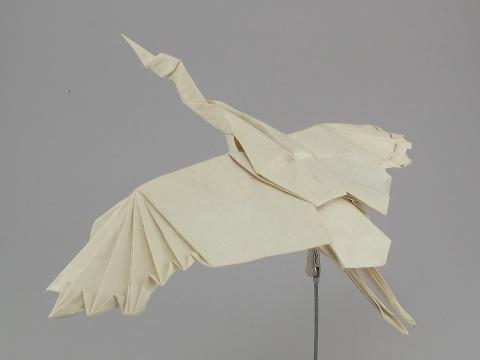クリスマス 折り紙 折り紙 つる : folders.jp
